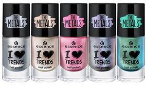 Essence I Love Trends The Metals Körömlakk