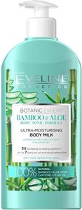 Eveline Botanic Expert Ultra-Hidratáló Testápoló Tej Bambusz és Aloe Kivonattal