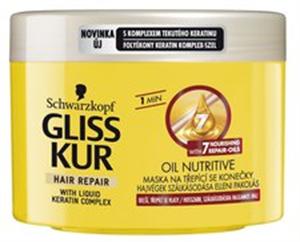 Gliss Kur Oil Nutritive Tápláló Olaj Hajregeneráló Hajpakolás