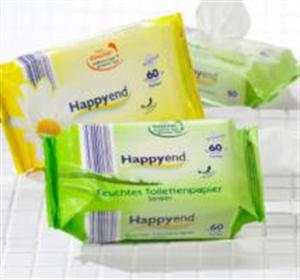 Happy End Nedves Toalett Kendő