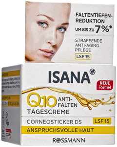 Isana Q10 Anti-Falten LSF15 Nappali Krém