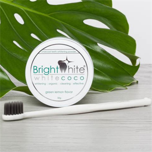 BrightWhite White Coco 100% Aktív Kókusz Szén