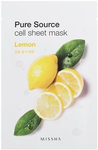 Missha Pure Source Cell Sheet Mask - Lemon