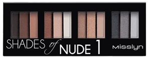 Misslyn Shades Of Nude1 Szemhéjpúder Paletta