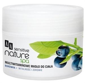 AA Sensitive Nature Spa Kékáfonya Multivitamin Testápoló Vaj