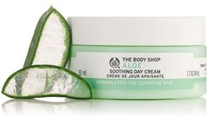 The Body Shop Aloe Nyugtató Nappali Arckrém