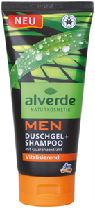 Alverde Men Duschgel + Shampoo