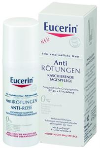 Eucerin Anti-Redness Bőrpír Elleni Színezett Nappali Arcápoló FF25