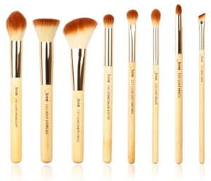 Jessup 8 Piece Bamboo Brushes Set Ecsetkészlet