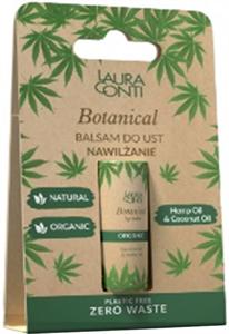 Laura Conti Botanical Ajakbalzsam Kókusz és Kendermag Olajjal