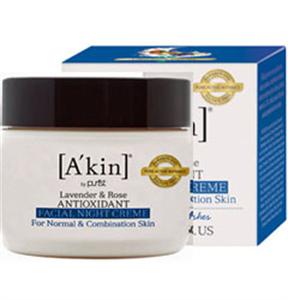 A'kin Lavender & Rose Antioxidant Facial Night Creme