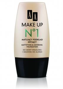 AA Make Up Mattító Alapozó Krém