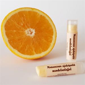 Aromanatura Narancsos Ajakápoló Mandulaolajjal