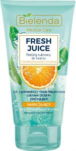 Bielenda Fresh Juice Hidratáló Hatású Cukorszemcsés Arcpeeling