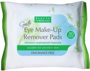 Beauty Formulas Eye Make-Up Remover Pads