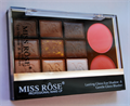 Miss Rose Lasting Gloss Eye Shadow & Gentle Gloss Blusher