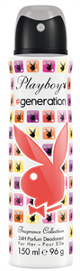 Playboy # Generation Body Spray