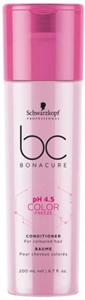 Schwarzkopf Bonacure Color Freeze Hajszínrögzítő Balzsam