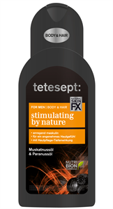 Tetesept Stimulating By Nature For Men Tusfürdő