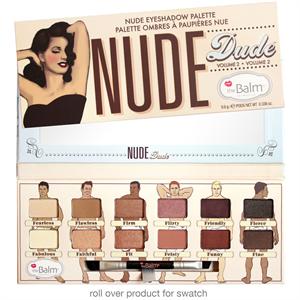 the Balm Nude Dude Volume 2 Szemhéjpúder Paletta