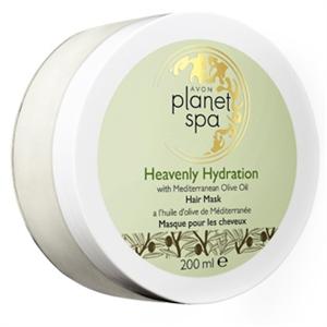 Avon Planet Spa Heavenly Hydration Hajpakolás