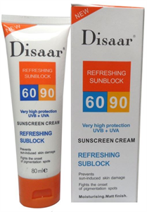 Disaar Refreshing Sunblock SPF90+UVB+UVA