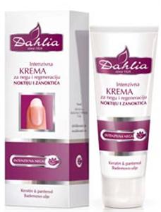 Dahlia Intenzív Körömerősítő Krém Keratinnal és Mandulaolajjal
