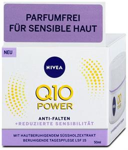 Nivea Q10 Power Ránctalanító Nappali Krém SPF15 Parfümmentes