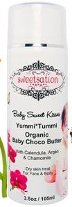 Sweetsation Theapy Yummi Tummi Organic Baby Choco Butter