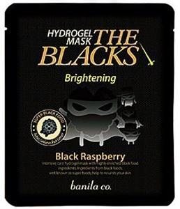 Banila co. The Blacks Hydrogel Mask Raspberry (Brightening)