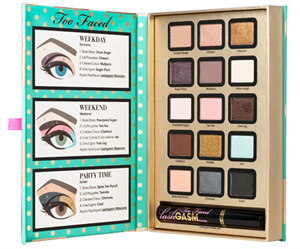 Too Faced Joy To The Girls Eye Shadow Collection