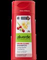 Alverde Color-Glanz Sampon Hársfavirág-Vörösáfonya