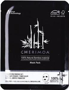 Cherimoa 100% Natural Bamboo Material Mask Pack - Black
