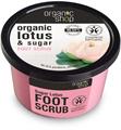 Organic Shop Édes Lótuszvirág Lábradír Bio Lótusszal és Cukorral