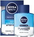 Nivea Protect & Care 2in1 Frissítő és Ápoló After Shave Lotion