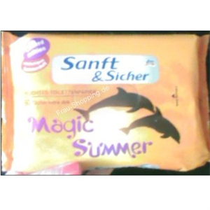 Sanft & Sicher Magic Summer Nedves Toalett Papír