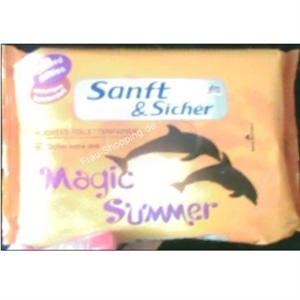 Sanft & Sicher Magic Summer Nedves Toalett Papír