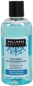 Wellness&Beauty the Spirit of Scandinavia Tusoló- és Fürdőgél