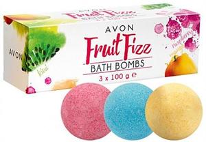 Avon Fruit Fizz Bath Bombs