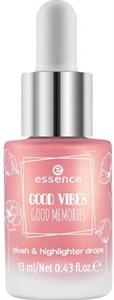 Essence Good Vibes Good Memories Folyékony Pirosító és Highlighter