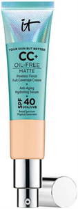 IT Cosmetics Your Skin But Better CC+ Cream Oil-Free Matte with SPF40
