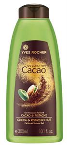 Yves Rocher Collection Cacao Kakaó és Pisztácia Tusfürdő