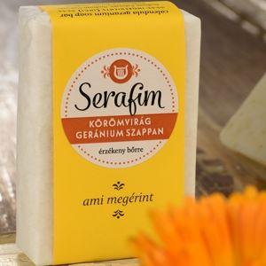 Serafim Körömvirág Geránium Szappan