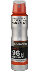 L'Oreal Men Expert Invincible Deodorant Spray