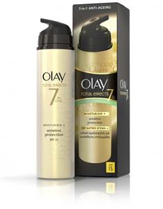 Olay Total Effects 7In1 Hidratáló Érzékeny Bőrre SPF15