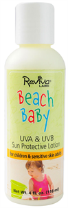 Reviva Labs Beach Baby Sun Protective Lotion SPF25