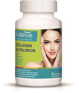 Solanie Collagen & Hyaluron Étrend-Kiegészítő Filmtabletta