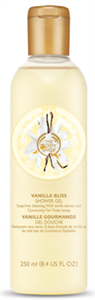 The Body Shop Vanilla Bliss Vaníliás Tusfürdő Gél