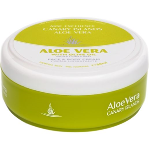Aloe Excellence Canary Islands Aloe Vera With Olive Oil Face & Body Cream