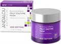 Andalou Naturals Age Defying BioActive 8 Berry Fruit Enzyme Mask